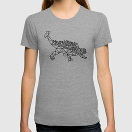 Geometric Low poly dinosaur T-shirt