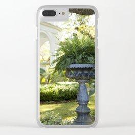 Charleston Fern Clear iPhone Case