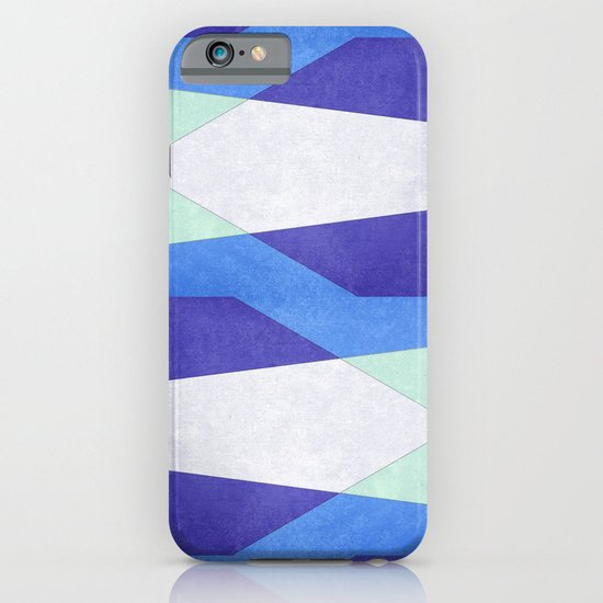Abstract Purple Blue & Green iPhone & iPod Case
