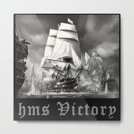 HMS VICTORY Metal Print