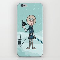 han solo iPhone & iPod Skins featuring EP5 : Han Solo by Jason Yang
