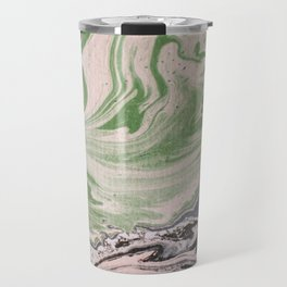 Marbled paper desert colored Travel Mug