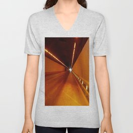 The light at the end of the tunnel Unisex V-Neck