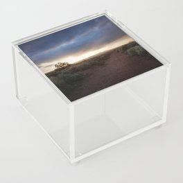New Mexico Sunset Acrylic Box