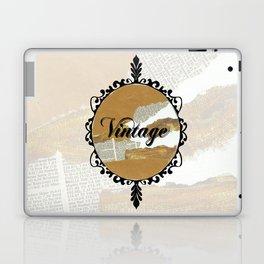 Vintage Collage Frame Laptop & iPad Skin