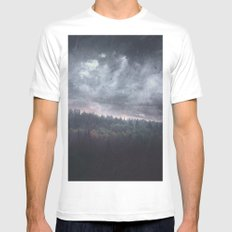 The hunger White Mens Fitted Tee MEDIUM