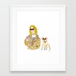 cool, calm and collected Framed Art Print