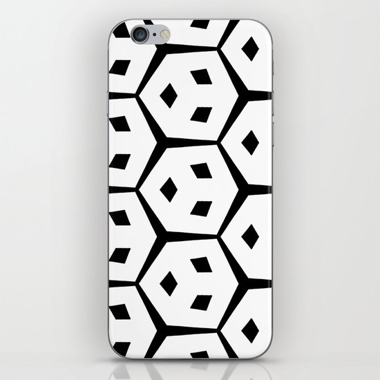 Van Trijp Black & White Pattern iPhone & iPod Skin