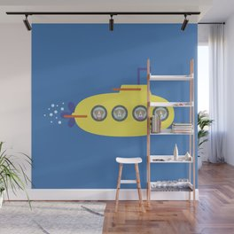 The Beagles - Yellow Submarine Wall Mural