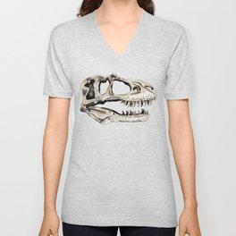 Gorgosaurus Skull Unisex V-Neck