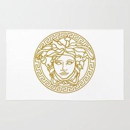 Golden Medusa Rug