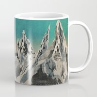 mountains Mugs featuring Mountains by Amelia Senville