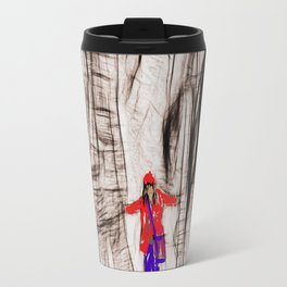 the tree and her girlfriend Travel Mug