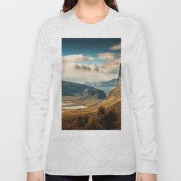 Brown Mountain Long Sleeve T-shirt