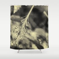 hibiscus Shower Curtains featuring Hibiscus by Fredy Mihaila