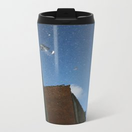 yellA hannavaS: Backward  Metal Travel Mug