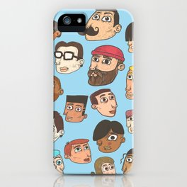 faces iPhone Case