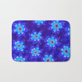 December Lace Rose Bath Mat