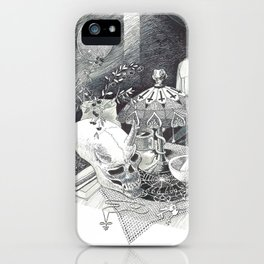 Alien Skull iPhone Case