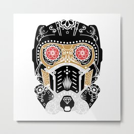 Day of the dead - S. Lord Metal Print