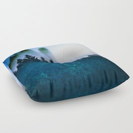 Winter Blues Floor Pillow