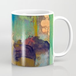 "Edgar Degas ""Mademoiselle Bécat at the Café des Ambassadeurs"" Coffee Mug"