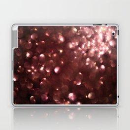 Dark Pink Sparkles Laptop & iPad Skin