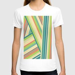 Lime Green Pattern T-shirt