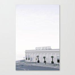 Calm Morning at the San Francisco Cliff House Canvas Print