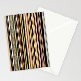 Old Skool Stripes - The Dark Side Stationery Cards