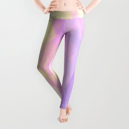 Abstract Geometric design with Unicorn Colors Leggings