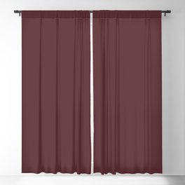 Tawny Port | Pantone Fashion Color Fall : Winter 2017 | New York | Solid Color | Blackout Curtain
