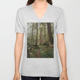 Wonderland Forest Trail Unisex V-Neck