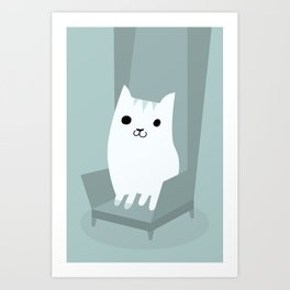 Gentleman Cat Art Print