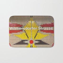 Berlin U-Bahn Memories - Wilmersdorfer Strasse Bath Mat