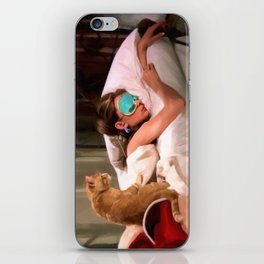 Audrey Hepburn #4 @ Breakfast at Tiffany's iPhone Skin