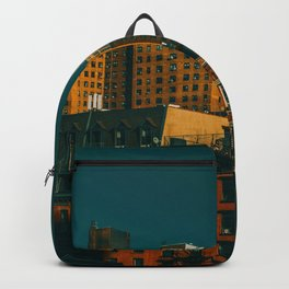 New York City Apartments (Color) Backpack