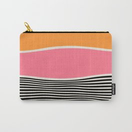 Wavy Ripples: Mid Century Edition Carry-All Pouch
