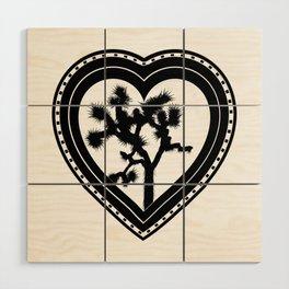 Heart of the Hi-Desert™ Joshua Tree by CREYES Wood Wall Art