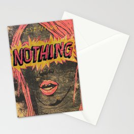 Presenting NOTHING Stationery Cards