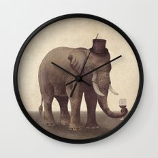 A Fine Vintage  Wall Clock