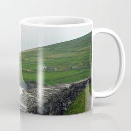 Live in the Sunshine, Swim in the sea Irish coast quote print Coffee Mug