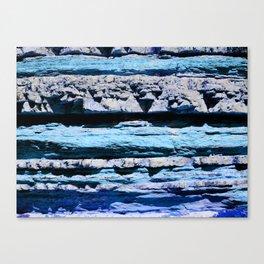 Blue Rocks Canvas Print