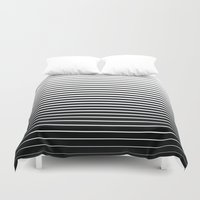 plain Duvet Covers featuring plain lines by My Big Fat Brand