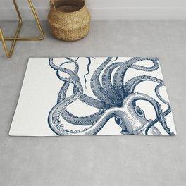 Octopus Navy Rug