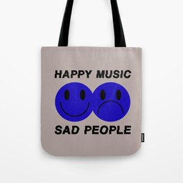 Tru Happy Music Tote Bag