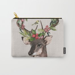 Christmas Deer Carry-All Pouch
