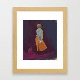 consist Framed Art Print