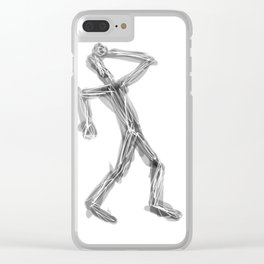 stupid! Clear iPhone Case