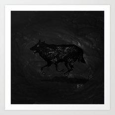Night Run Art Print